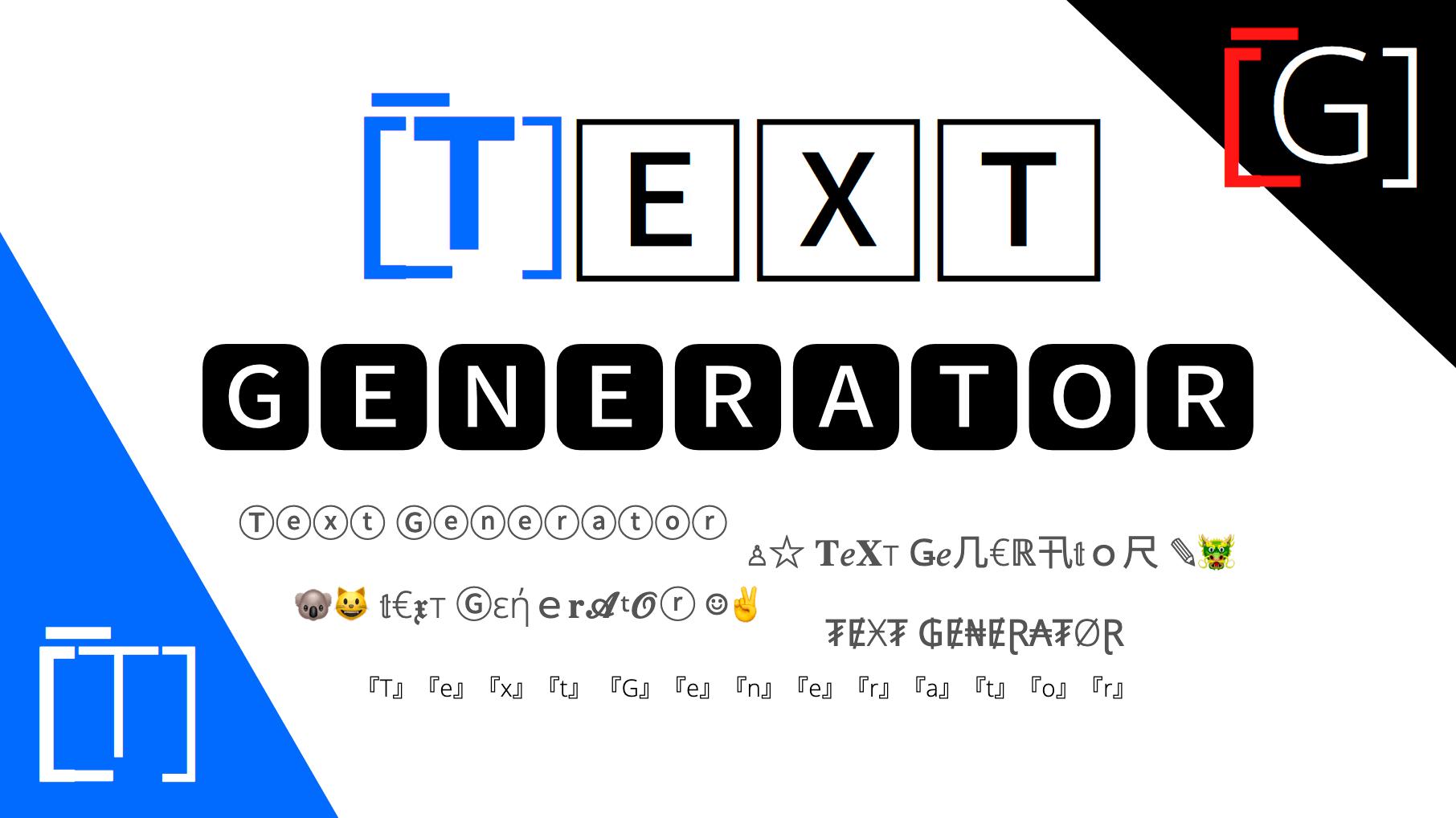 Text Generator ᐈ 1 ℭ𝔬𝔭𝔶 ℙ𝕒𝕤𝕥𝕖 Text Font